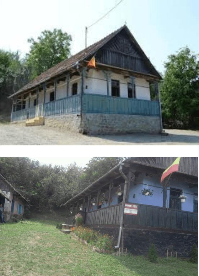Casa tradițională din satul Doh